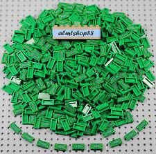LEGO - 1x2 Tiles Money 100 Dollar Bill Green Bank Lot Minifigure Accessories