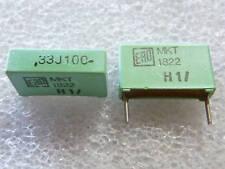 2 condensateurs 0,33uF 330nF 100V ERO MKT1822