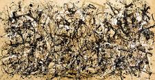 JACKSON POLLOCK AUTUMN RHYTHM  EXPRESSIONISM ART GICLEE PRINT FINE CANVAS