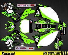 Kit Déco Moto pour / Mx Decal Kit for Kawasaki KXF - Punk Skull