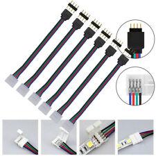 RGB 1/pieza 12/mm RGBW LED Tiras T Conexi/ón 5/pines conector r/ápido Connector 12/mm, sin soldaje W