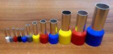 Aderendhülsen isoliert 0,5 0,75 1 1,5 2,5 4 6 10 16 25 35 50 mm² 1 - 2000 Stk.