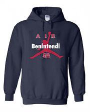 """Andrew Benintendi Boston Red Sox """"Air""""  jersey Hooded SWEATSHIRT HOODIE"""