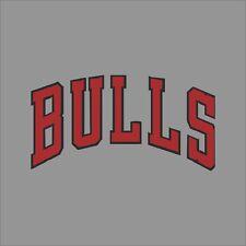 Chicago Bulls #2 NBA Team Logo Vinyl Decal Sticker Car Window Wall Cornhole