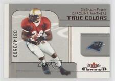 2002 Fleer Maximum 253 DeShaun Foster Carolina Panthers Birmingham-Southern Card