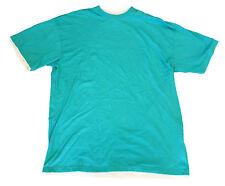 URBAN CLASSICS aqua/white t-shirt man maglietta uomo azzurra/bianca 4XL _