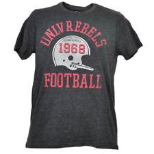NCAA UNLV Nevada Las Vegas Rebels Helmet Football Tshirt Tee Mens Short Sleeve