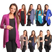 Maternity Floaty Waterfall Cardigan Shrug Jacket Top Size 8 10 12 14 16 18 4008