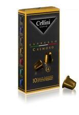 30 Capsule caffe'Cellini compatibili con macchine Nespresso -cialde -