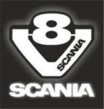 SC-2 V8 con el logotipo de Scania Camión Griffin Motor A5 Motor de Coche A4 tamaño Aerógrafo Stencils