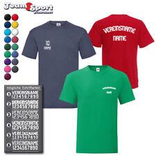 10x T-Shirt Aufwärmshirt in 17 Farben inkl. Druck / Fussball Handball Volleyball