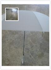 Ombrello da sposa MATRIMONIO BIANCO o TRASPARENTE  wedding feste..lunghezza 72cm