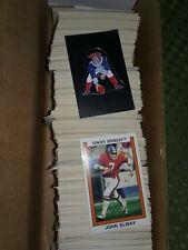 1989 NFL Panini Football Sticker Singles - Create Own Lot #245-#416