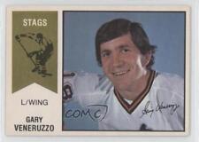 1974-75 O-Pee-Chee WHA #55 Gary Veneruzzo Michigan Stags (WHA) Hockey Card