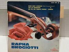RAPHA BROGIOTTI et ses tziganes Rien que l amour / toi le musicien ... ESDF 1405