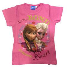 FROZEN camiseta rosa de algodón varias tallas de niña