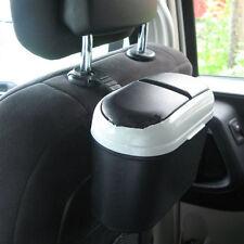 New Auto Car Trash Rubbish Can Garbage Dust Dustbin Box Case Holder Bin Hook ZU