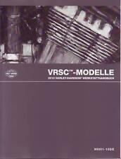 HARLEY-DAVIDSON Wartungshandbuch 2010 V-Rod Modelle in DEUTSCH Buch Anleitung