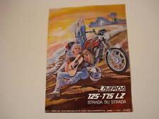 advertising Pubblicità 1979 MOTO LAVERDA 125 - 175 LZ