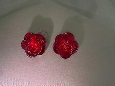 Clip On Rose Earrings in 5 Colours - Ideal children