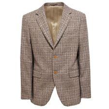 3304Q giacca uomo BORDONI lana marrone/beige jacket men