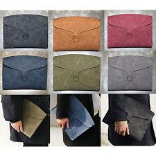 Korea Fashion BLID Clutch Bag Faux Leather Pouch Purse Briefcase Wallet MEN Gift