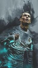 64886 Cristiano Ronaldo CR7 - Real Madrid Soccer Top Wall Print Poster CA