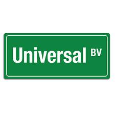 Signo Universal BV carretera | identificación Placa cotización de pared de metal | Sala De Ruta American