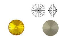 Swarovski Crystals® Rivoli (1122) sunflower, SS39 - 8 mm | Menge wählbar (6, 10