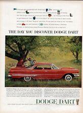 1960 Chrysler Dodge Dart V8 Phoenix 118 PRINT AD T