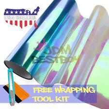 *Galaxy Chameleon Neo Chrome Light Blue Headlight Taillight Fog Light Tint Film