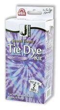 Jacquard Jewel Tones Tie Dye Kit - 6 COLORS For 100% Cotton, Linen, Rayon & Hemp