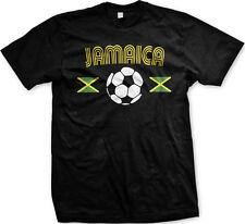 Jamaica Jamaican National Country Pride The Reggae Boyz Soccer Mens T-shirt