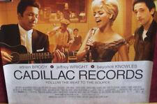 Cinema Poster: CADILLAC RECORDS 2009 (Quad) Beyoncé