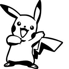 Pikachu Pokemon Go Vinyl Decal Sticker Car / Wall / Laptop / Window