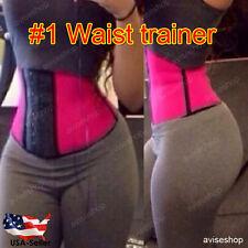 workout Sport Tummy Waist Trainer Cincher Underbust Corset Body Shaper Shapewear
