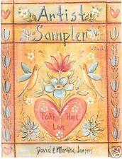 "DAVID & MARTHA JANSEN ""ARTIST SAMPLER 1"" - BRAND NEW!"