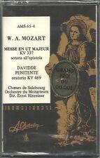 W.A. Mozart Messe in ut major; Davidde Panitente Oratorio Charlin New Cassette