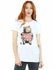 Disney Women's Toy Story Kung Fu Pork Chop Boyfriend Fit T-Shirt