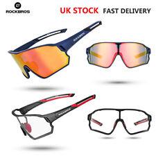 Rockbros Cycling Sunglasses Polarized UV400 Bike Goggles Photochromatic Glasses