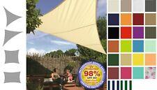 Tende a vela da sole Tenda Telo Tessuto Impermeabile 98% UV Protezione Giardino
