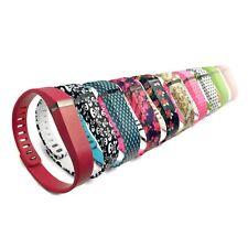 TUFF-LUV Silicone Sangle réglable Bracelet et boucle pour Fitbit montres