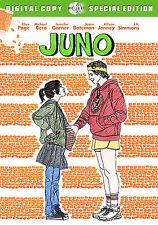 JUNO  (DVD, 2008, 2-Disc Set)  Ellen Page   NO RESERVE