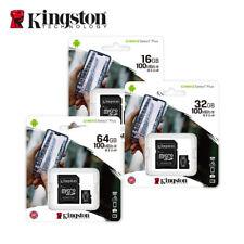 Kingston 16GB 32GB 64GB Micro SD SDHC SDXC Memory Card Class 10 TF Card
