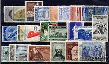 1952 Repubblica annata completa 24 val. nuovi **