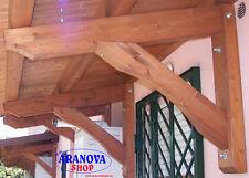 Braccio / mensola per tettoia pensilina in legno per copertura finestre (nr.1)