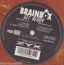 "12"" BrainBox-Get Ready-Original + EXTENDED VERSION +2 - Marbled Vinyl-Zyx"