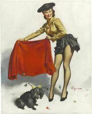 Vintage Pin-Up Aw Come On Elvgren PINUP238 Art Print Poster A4 A3 A2 A1