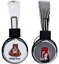 Spirit of London Over Ear Cuffie Stereo Regolabile Pieghevole Pop Art Design