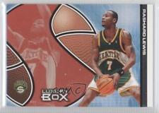 2004 Topps Luxury Box Season Tickets #77 Rashard Lewis Seattle Supersonics Card